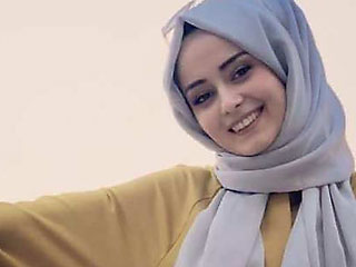 pretty smile hijab girl rubinamuslim